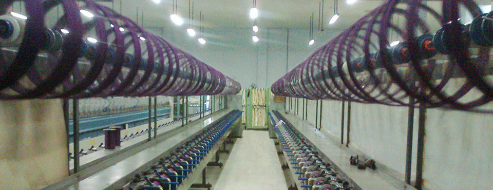 Coning Department at Kolkata JJ Spectrum Silk Limited